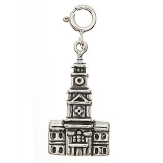 Sterling Silver Independence Hall Charm
