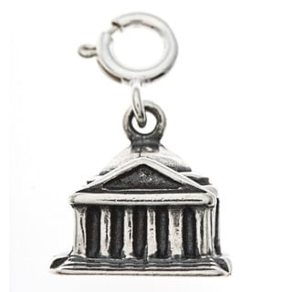Sterling Silver Jefferson Memorial Charm