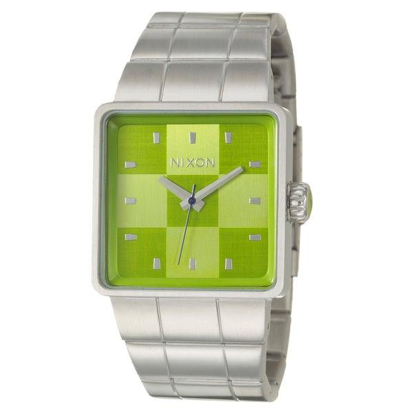 Nixon Men's Stainless Steel 'The Quattro' Watch