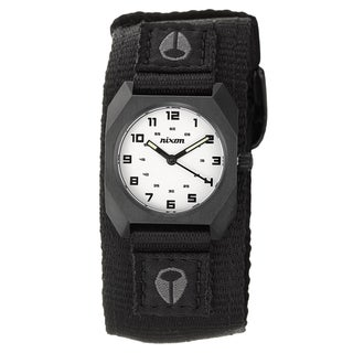 Nixon Women's Black Stainless-Steel Nylon 'Scout' Watch