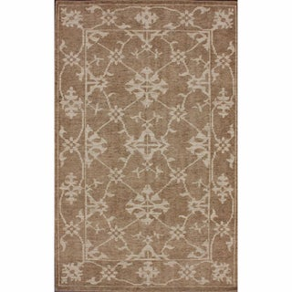 nuLOOM Rug Colletive Hand-knotted Overdyed New Zealand Wool Rug