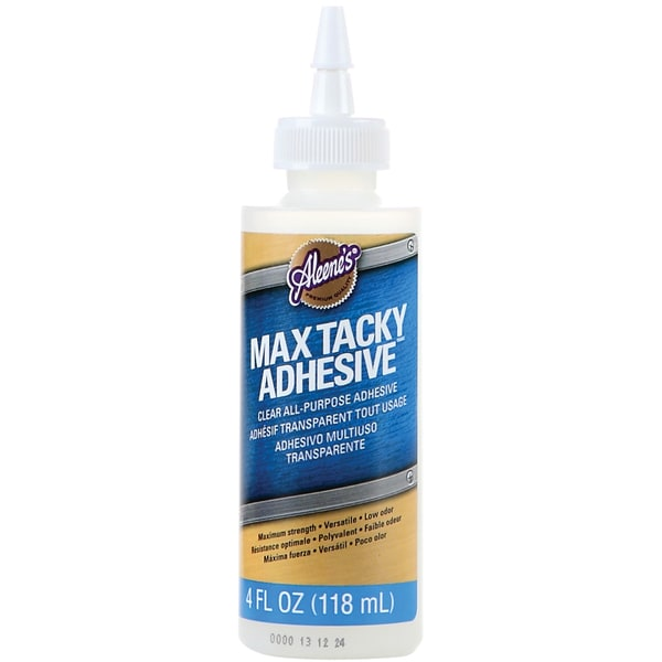 Aleene's Max Tacky Adhesive 4 Ounces-