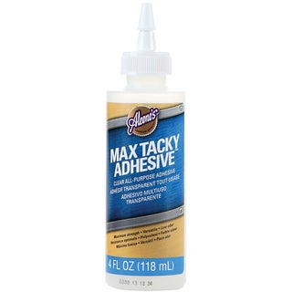 Aleene's Max Tacky Adhesive 4 Ounces-