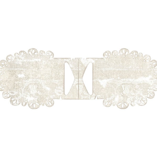 Sweet Crazy Love DooHickeys Dies-So Wrapped Tilda Lace