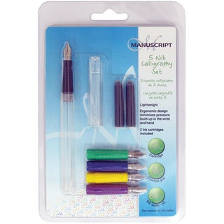 5 Nib Calligraphy Set-