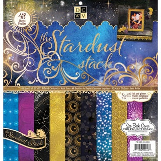 DCWV 'Stardust' 48-sheet Paper Stack (12x12)
