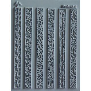 "Lisa Pavelka Individual Texture Stamp 4.25""X5.5"" 1/Pkg-Shanks A Lot"