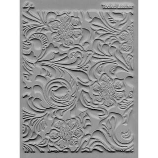 """Lisa Pavelka Individual Texture Stamp 4.25""""X5.5"""" 1/Pkg-Tooled Leather"""