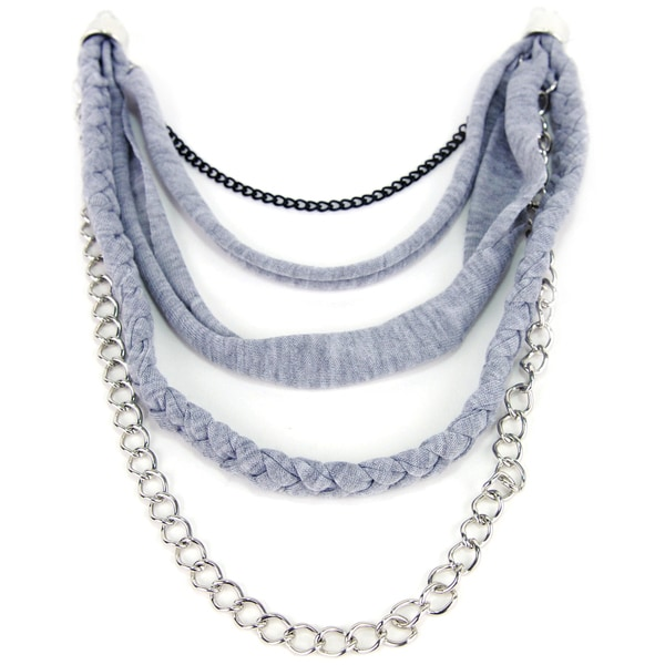 Laliberi Scarf Swag-Medium Braid And Chain