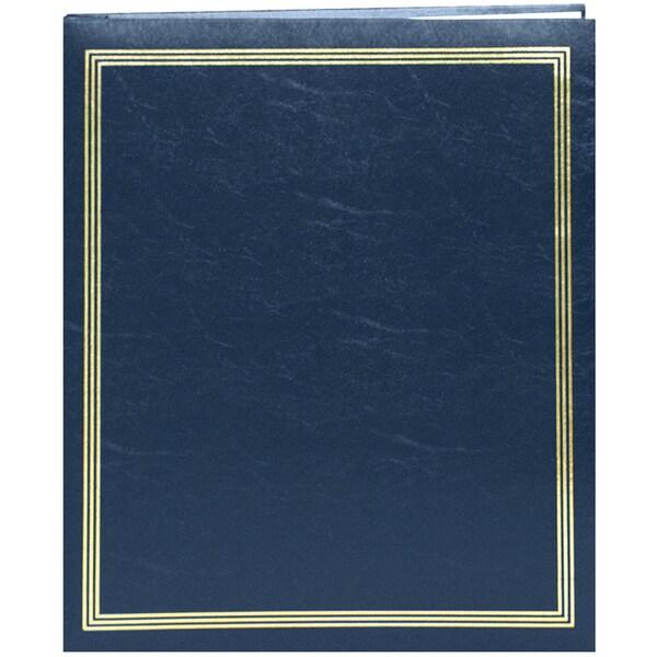 """Postbound Jumbo Album 11""""X14""""-Navy Blue"""