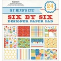My Mind's Eye Six By Six Paper Pad 24/Sheets-Play Date