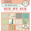 My Mind's Eye Six By Six Paper Pad 24/Sheets-My Favorite Things