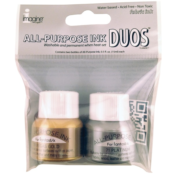 All Purpose Ink Duos-Vegas Gold/Platinum