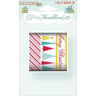 Winter Wonderland Decorative Tape 3 Rolls-