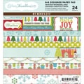 "Winter Wonderland Paper Pad 6""X6"" 24 Sheets-12 Double-Sided Designs/2 Each"