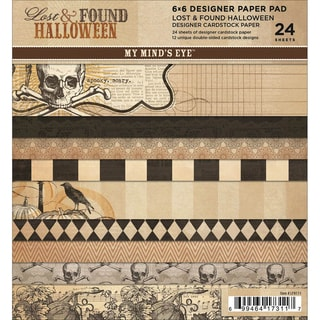 Lost & Found Halloween Paper Pad 6