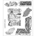 Tim Holtz Cling Rubber Stamp Set-Classics #7