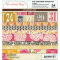 "The Sweetest Thing Honey Paper Pad 6""X6"" 24 Sheets-"