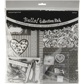 "Bella! Wedding Collection Pack 12""X12""-Black"