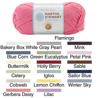 Martha Stewart Extra Soft Wool Blend Yarn