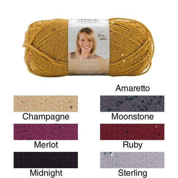 Vanna's Sequins Yarn