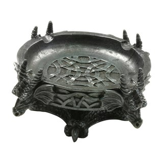 Master Cutlery 5-inch Polyresin Dragon Ashtray