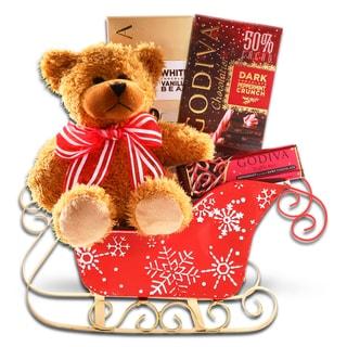 Alder Creek Gift Baskets Godiva Holiday Sleigh