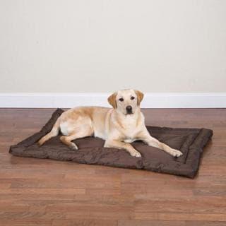Slumber Pet Chocolate Brown Water-resistant Bed