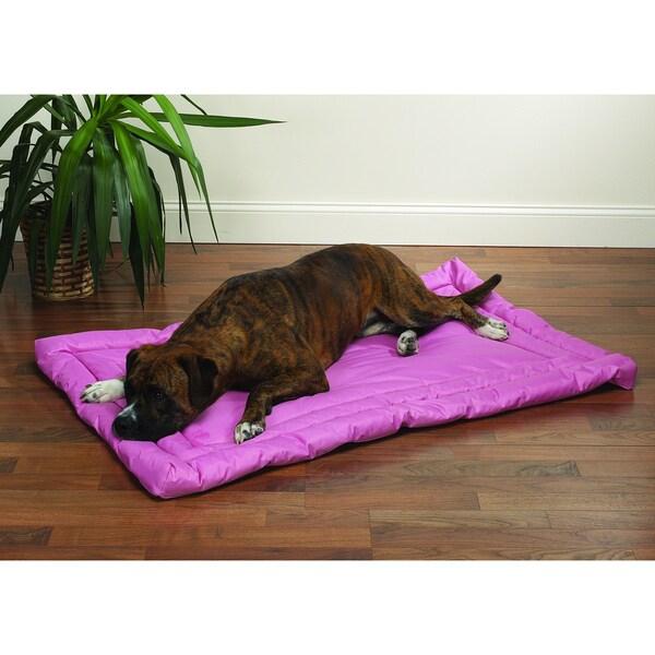 Slumber Pet Pink Water-resistant Bed