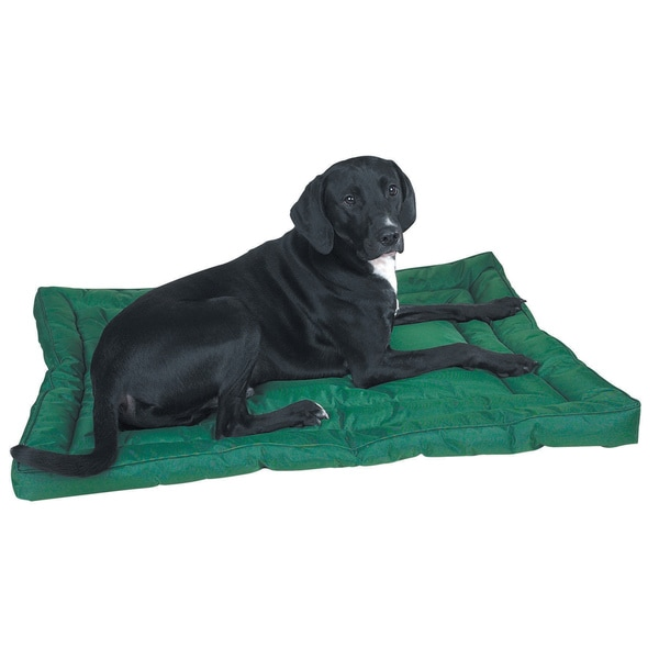 Slumber Pet Green Water-resistant Bed