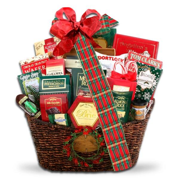 Alder Creek Gift Baskets Grand Holiday Traditions Gift Basket
