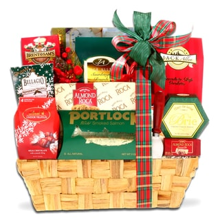 Alder Creek Gift Baskets Traditional Holiday Gift Basket