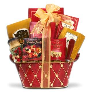 Alder Creek Gift Baskets Holiday Greetings Gift Basket