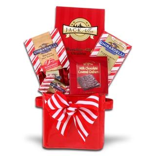 Alder Creek Gift Baskets Peppermint Dream Gift Basket