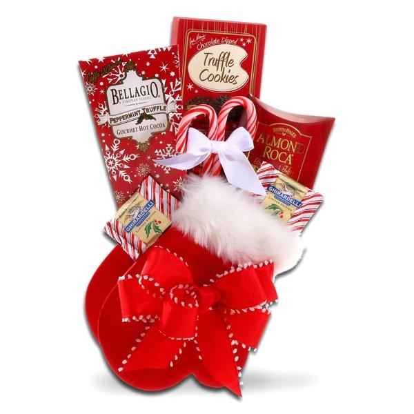 Alder Creek Gift Baskets Warm Winter Mitten Gift Basket