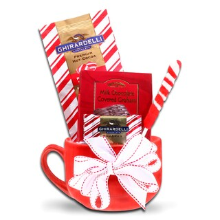 Alder Creek Gift Baskets Ghirardelli Holiday Latte Mug
