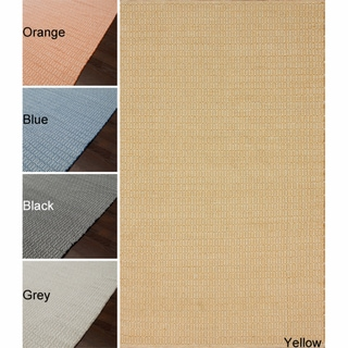 Handmade Reversible Alexa Flatweave Cotton Rug