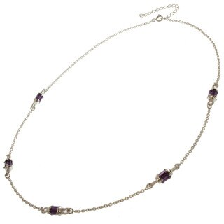 Michael Valitutti Amethyst Necklace
