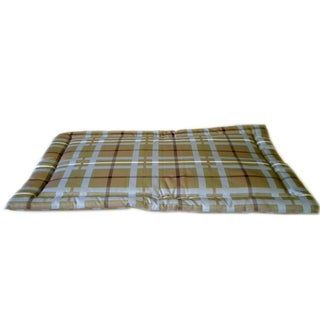 Carolina Pet Brutus Brown/ Blue Plaid Crate Pad