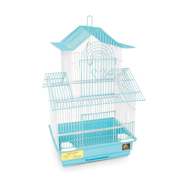 Prevue Pet Products Shanghai Sea Foam and White Parakeet Cage