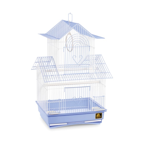 Prevue Pet Products Shanghai Blue and White Parakeet Cage