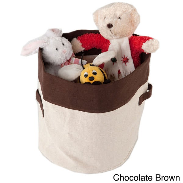 Carolina Pet Heavy Canvas Toy Bucket