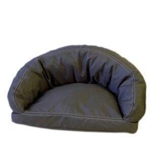 Carolina Pet Brutus Tuff Semi-Circle Olive Pet Bed Lounger