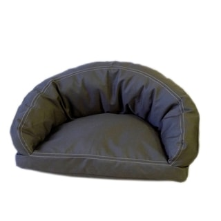 Carolina Pet Brutus Tuff Semi-Circle Olive Pet Bed Lounger