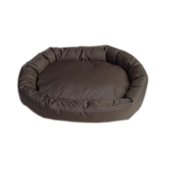 Dreamy Dog Brutus Comfy Cup Chocolate Brown Pet Bed