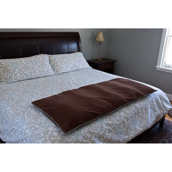 Carolina Pet Brown Microfiber Bed Pillow