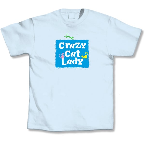 'Crazy Cat Lady' Cat Lover's T-Shirt 10281951