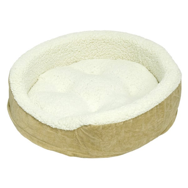 Oliver Foam Toast Medium Dog Bed (21 x 26 inches)