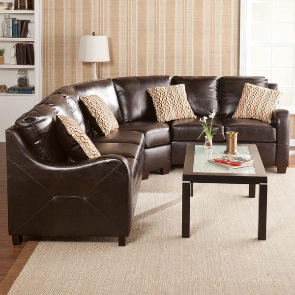 Claymore Chocolate 3-peice Sectional