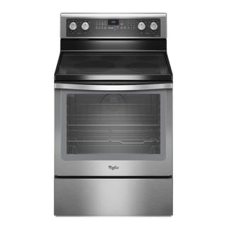Whirlpool WFE710HOA Electric Range Time Savor Plus